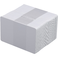 PVC Cards Blank White, Pack of 100